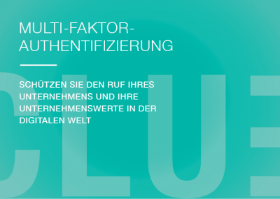 Multi Faktor Authentifizierung