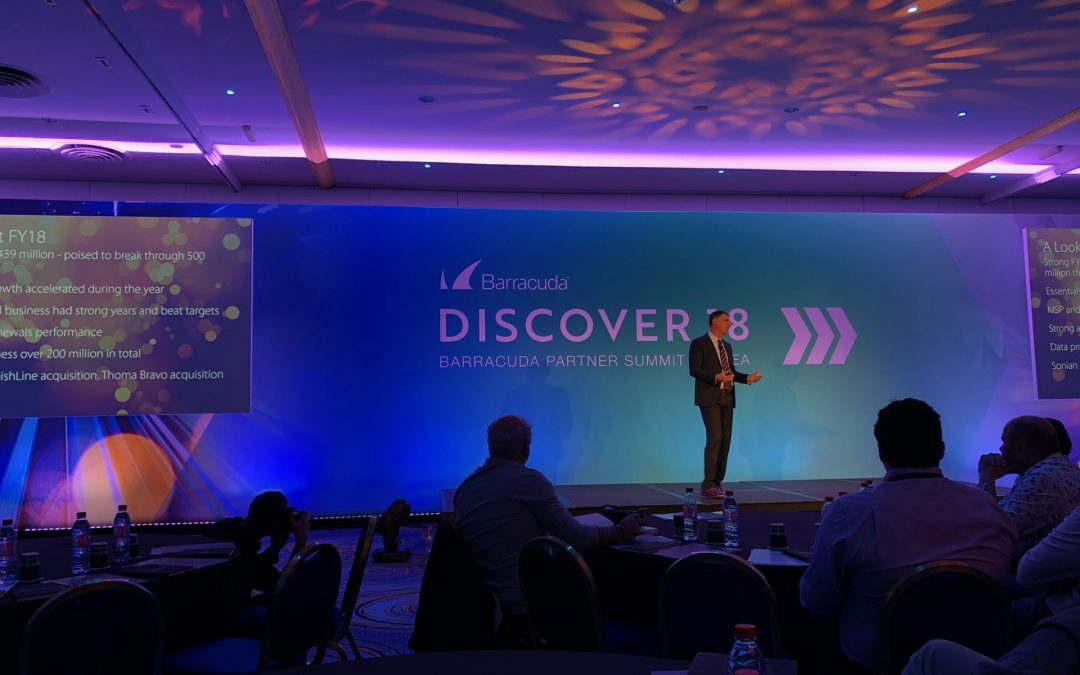Barracuda Discover18 Summit