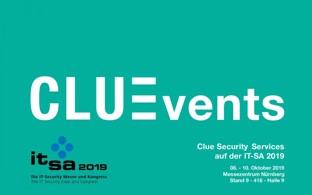 Clue auf der IT-SA 2019 in Nürnberg